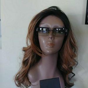 Chanel Crystal CC Logo Sunglasses